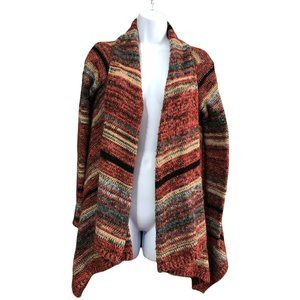 American Eagle Outfitters Southwest Colors Open Front Cozy Cardigan Size XS